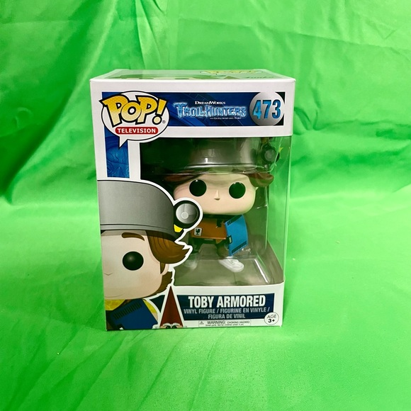 FUNKO POP! TOBY ARMORED #473 BRAND NEW